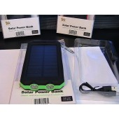 U.S Brand Solar Power Bank & AC Power Charger Unit actual 4000 mAh Guardian model# CT-SP-G4 with 2 LED Light