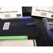 U.S Brand Solar Power Bank & AC Power Charger Unit actual 4000 mAh HelloCar model# CT-SP-HC4 with 1 LED Light
