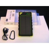 U.S Brand Solar Power Bank & AC Power Charger Unit actual 4000 mAh Hornet model# CT-SP-HT4 with 1 LED Light