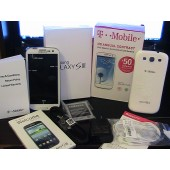 Brand New Samsung Galaxy S III S3 T999L 16GB White Smartphone GSM T-Mobile Only